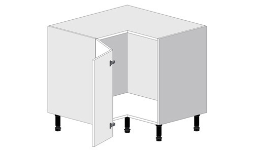 How Do I Plan Corner Units, What Depth Do Kitchen Base Units Come In